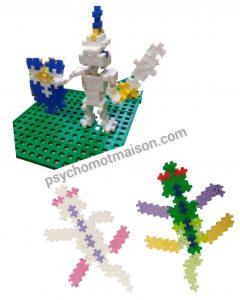 Plus Plus 3D 2D psychomot'maison