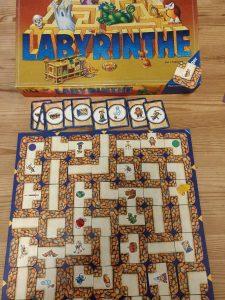 labyrinthe calendrier de l'avent psychomot